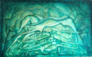 Sergiusz Maliszewski, obraz olejny na płótnie